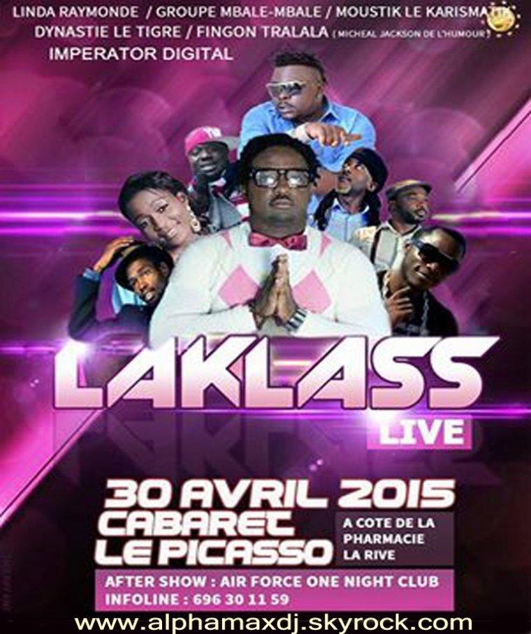 Encore les femmes Mbômtôlo...Venez vivre le grand show live de votre artiste Armand Laklass ce 30 Avril 2015 Au Cabaret le Picasso.