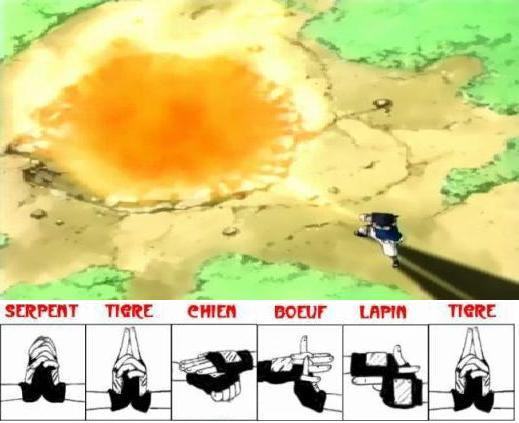 Katon goukakyuu no jutsu technique supr me de la boule - Technique de sasuke ...
