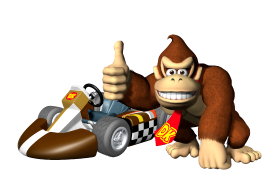 Mario kart wii personnages disponibles donkey kong - Personnage mario kart 7 ...
