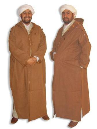 شعب البرانس اللباس التقليدي الامازيغي