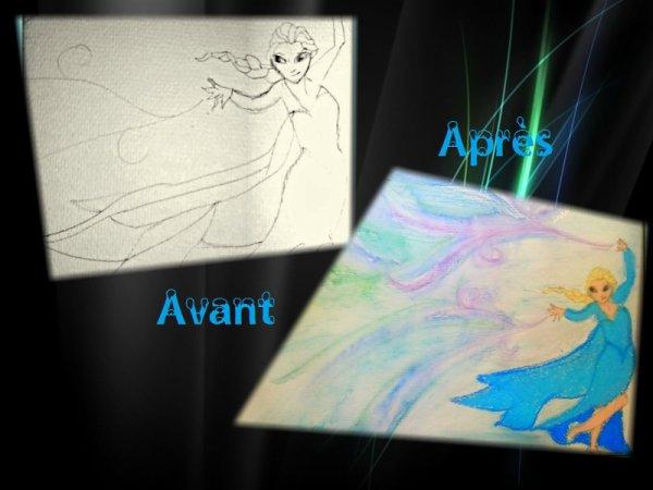 Double art (pastel-aquarelle)