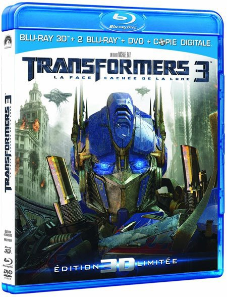 Transformers Dark of the moon Blu-Ray collector