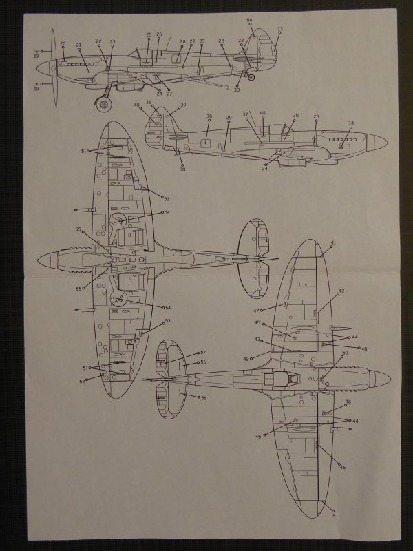 SUPERMARINE SEAFIRE MkXV de l'AERONAVALE - 1950 3268516892_1_6_y1L2KDpz