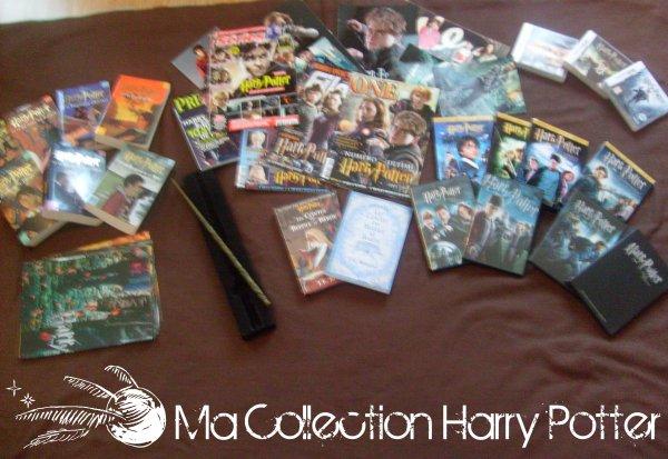 Ma collection harry potter la saga harry potter - Harry potter 8 et les portes du temps bande annonce ...