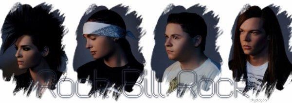 Article n�02   |    Biographies    |    Tokio Hotel vu par Rock--Bill--RockPix/Design by me