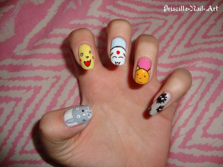 nail art manga