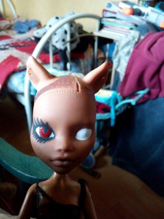 Custom Clawdy (Clawdeen new scaremester)