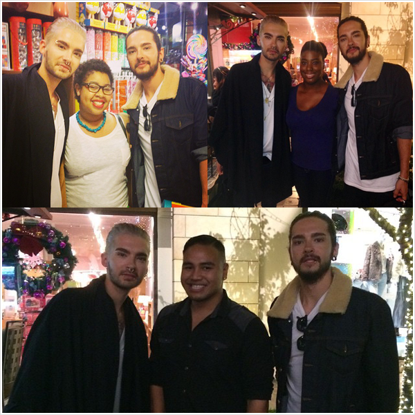 8 863 / 09.12.2014 - Bill & Tom avec des fans � Los Angeles (USA).