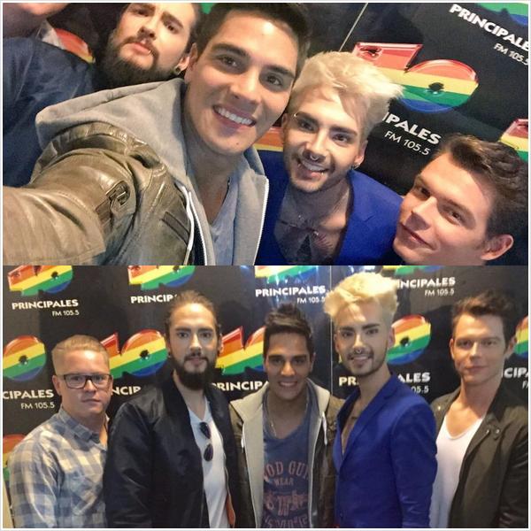 9 443 / 24.08.2015 - 40 Principales FM 105.5, Buenos Aires.