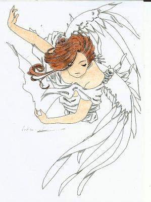 Ange gardien dessins de la famille - Dessin d ange gardien ...