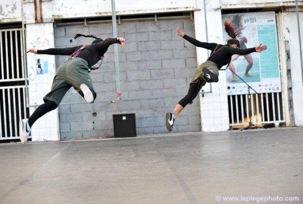 La danse est l'expression perpendiculaire d'un désir horizontal.