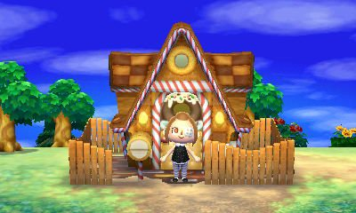Maison colorful for Agrandissement maison animal crossing new leaf