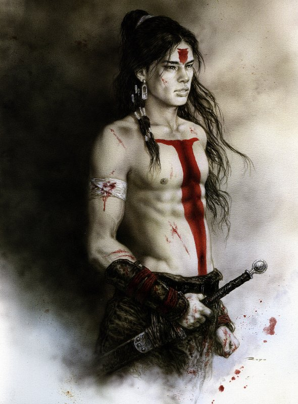 Luis Royo - Dead moon - Epilogue1 - Tsuchi - Earth01