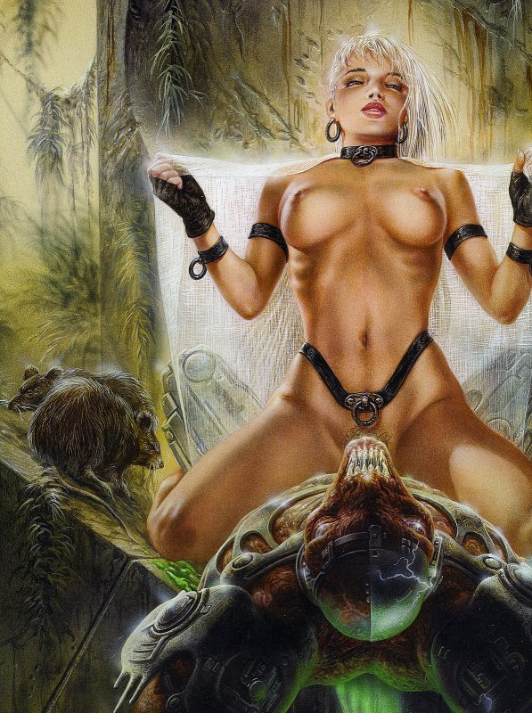 Luis Royo - Fantastic art - Communion