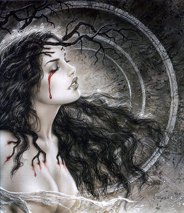 Luis Royo -  Fantastic art - Mother earth