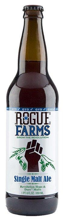 Review : Rogue Farms Single Malt Ale