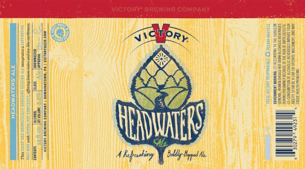 Review : Victory Headwaters Pale Ale