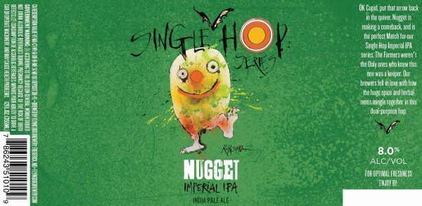 Review : Flying Dog Imperial IPA - Nugget Single Hop