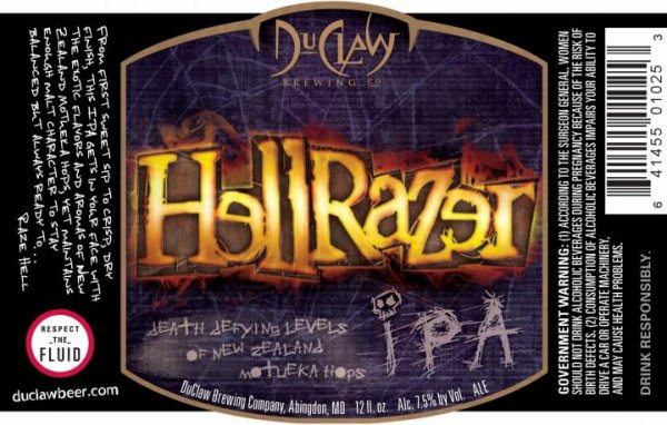 Review : DuClaw Hellrazer