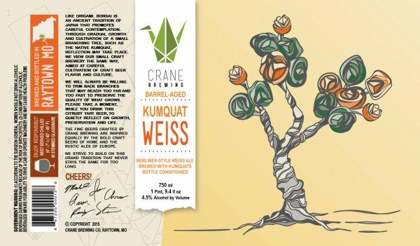 Review : Crane Kumquat Weiss