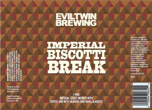 Review : Evil Twin Imperial Biscotti Break