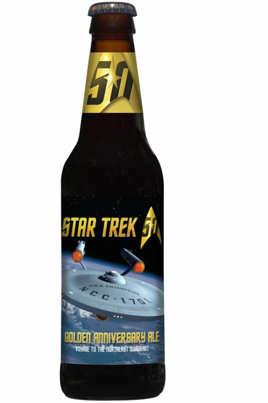 Review : Star Trek Golden Anniversary Ale : Voyage to the Northeast Quadrant