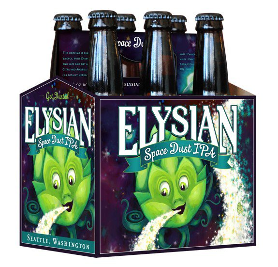 Review : Elysian Space Dust IPA