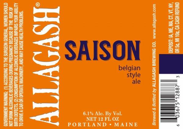 Review : Allagash Saison