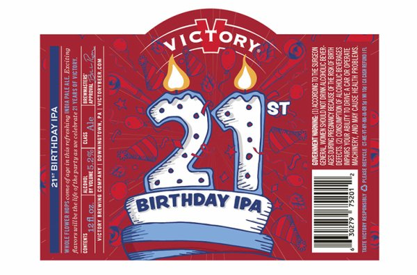 Review : Victory 21st Birthday IPA