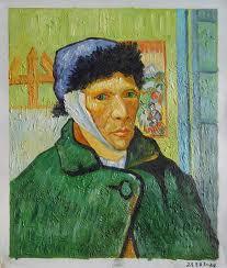 Van gogh l oreille coup e - Vincent van gogh autoportrait a l oreille coupee ...