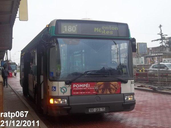 Ligne 180 bus irisbus agora line vf n 8363 blog de ratp067 - Ligne 118 bus ...
