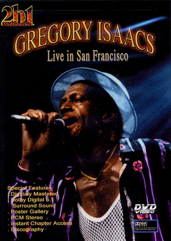 GREGORY  ISAACS​ - LIVE ​IN SAN FRANCISCO (2003)