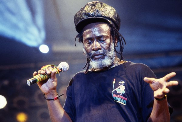 BURNING SPEAR - LIVE AT TOADS PLACE (1988)