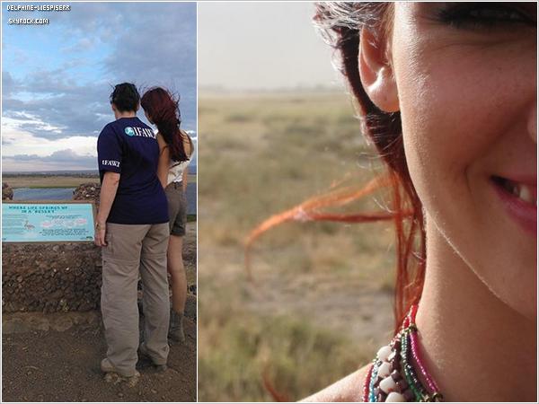 .  31/10  Delphine est au Kenya pour d�fendre les menaces qui p�sent sur les �l�phants d'Amboseli.   .