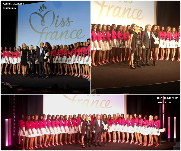 .  04/11  Miss France 2012 �tait chez un commer�ant de Gien.  .