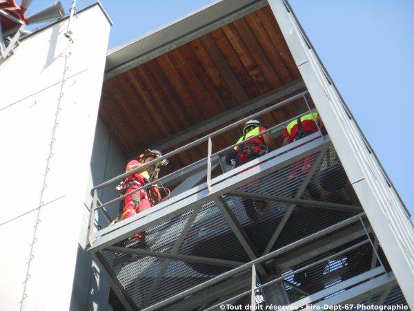 Journ�e Portes Ouvertes CIS Wissembourg, Manoeuvre GRIMP 1 ( 1/2 )