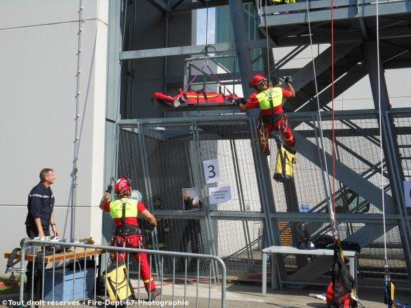 Journ�e Portes Ouvertes CIS Wissembourg, Manoeuvre GRIMP 1 ( 2/2 )