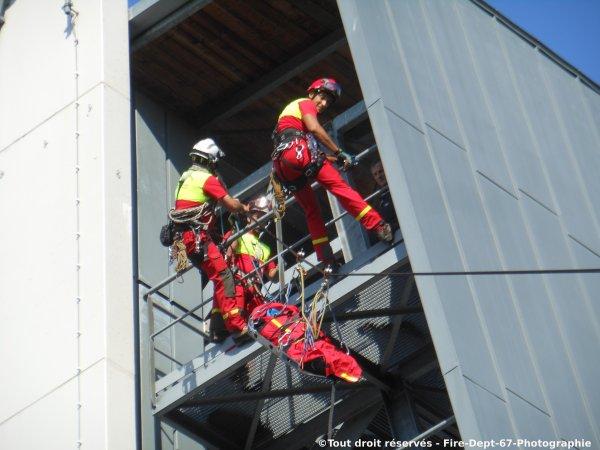 Journée Portes Ouvertes CIS Wissembourg, Manoeuvre GRIMP 2 ( 1/2 )