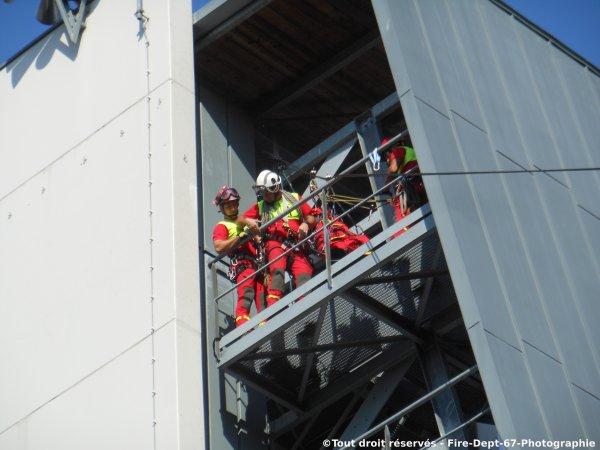 Journ�e Portes Ouvertes CIS Wissembourg, Manoeuvre GRIMP 2 ( 1/2 )