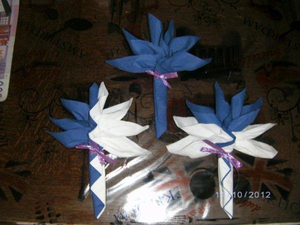 Pliage Serviette Papier Facile Pour Mariage Beautiful Agrable