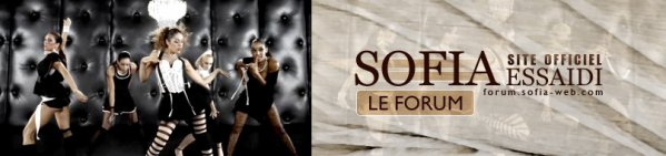 Forum Officiel de Sofia Essaidi