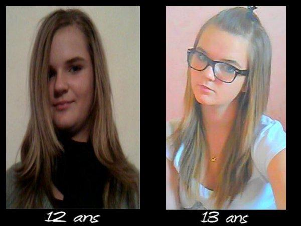 changement en 1 ans ! :0