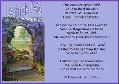 Un poeme triste 2 blog de xx futur papa et maman x - Poeme de noel pour maman et papa ...