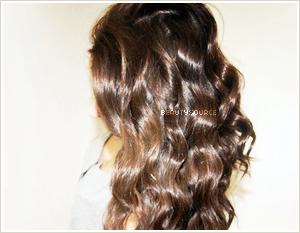 tutoriel coiffure se boucler les cheveux avec un lisseur. Black Bedroom Furniture Sets. Home Design Ideas