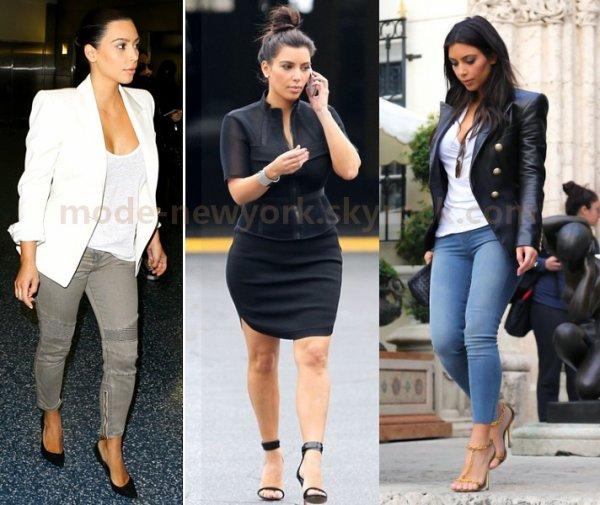 Kim est belle dans quelle tenue ?