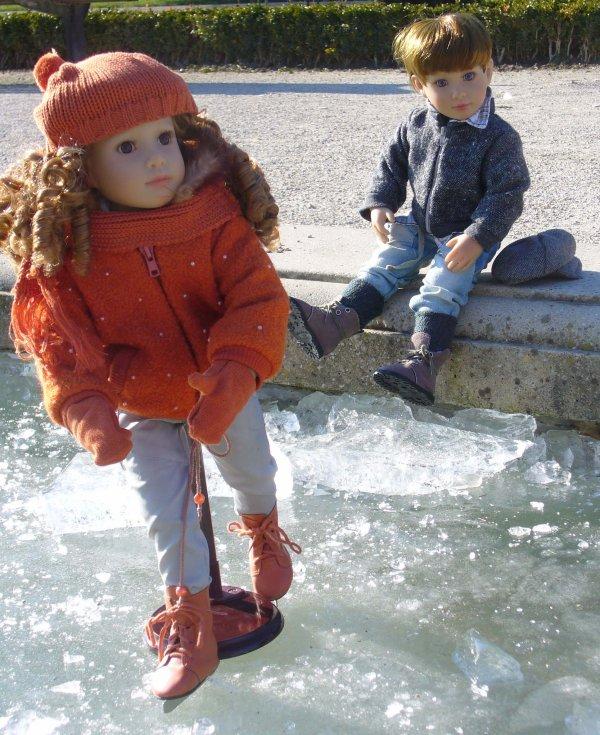 Redif- Balade au parc Pasteur......(suite )...Tara ....3/3...petits secrets de retouche...!!!