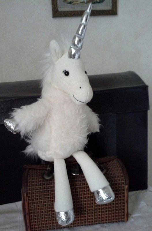 Une licorne gourmande ..!!!