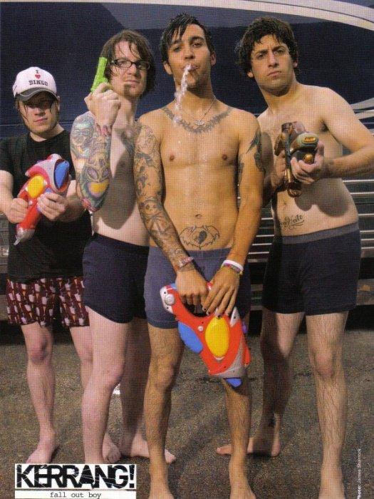 FALL OUT BOY : Pete Wentz parle de ses projets personnels ainsi que de l'avenir de Fall Out Boy