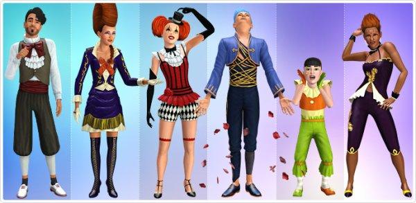 Série princesse de cirque