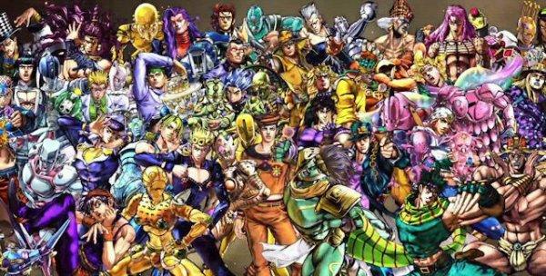 Tous les persos (jouables dans All star battle)